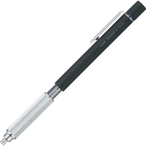 三菱鉛筆 シャープペン シフト 0.5 ブラック M51010.24