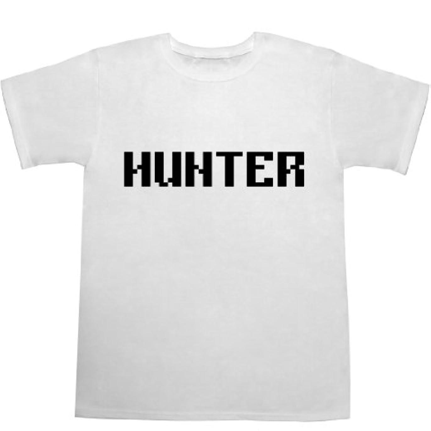 パートナー暴露する不規則なHUNTER Tシャツ