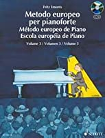 EMONTS - Metodo Europeo 3コ para Piano (Libro)