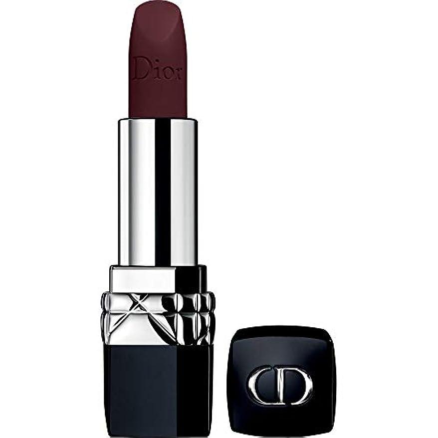 言い訳ブーストする[DIOR] ディオールルージュディオールクチュールカラーの口紅3.5グラム982 - 激怒マット - DIOR Rouge Dior Couture Colour Lipstick 3.5g 982 - Furious...