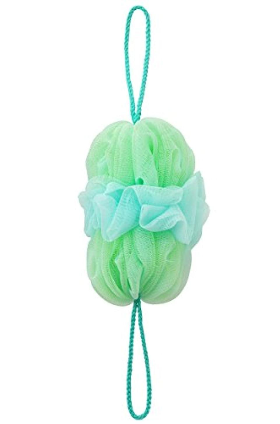 マーナ(MARNA) 泡工場 背中も洗えるシャボンボール グリーン