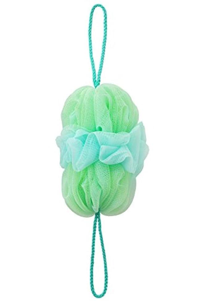 再現する何でも終わったマーナ(MARNA) 泡工場 背中も洗えるシャボンボール グリーン