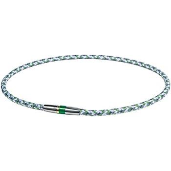 ファイテン(phiten) ネックレス RAKUWA ネックX50 ハイエンドIII グリーン 50cm