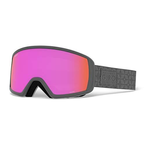 Giro 2018レディースGaze Ski Goggle???チタンキルト風フレーム/オレンジピンクレンズ???7090511