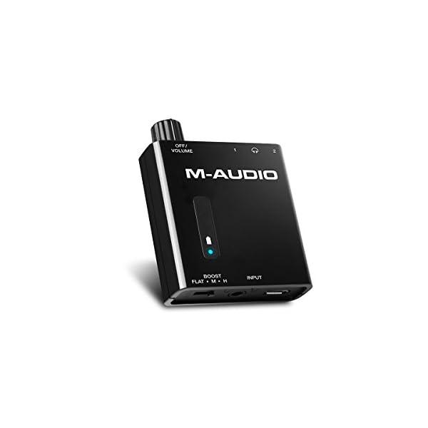 M-Audio 小型ポータブル・ヘッドフォンアン...の商品画像