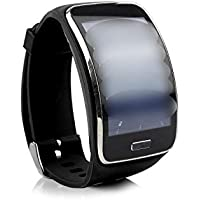 Wristband Bracelet Strap Band Compatible for Samsung Gear S Smart Watch SM R750 (Not Include Watch)