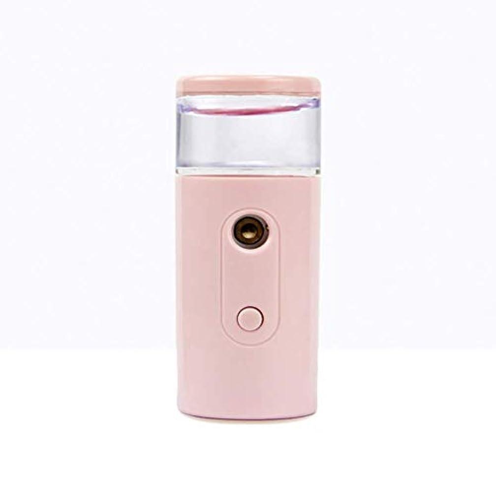 補う複数利得Nano Facial Mister、30ml視覚的水タンクを備えた充電式フェイシャルスチーマー、スキンケア、旅行用保湿&保湿