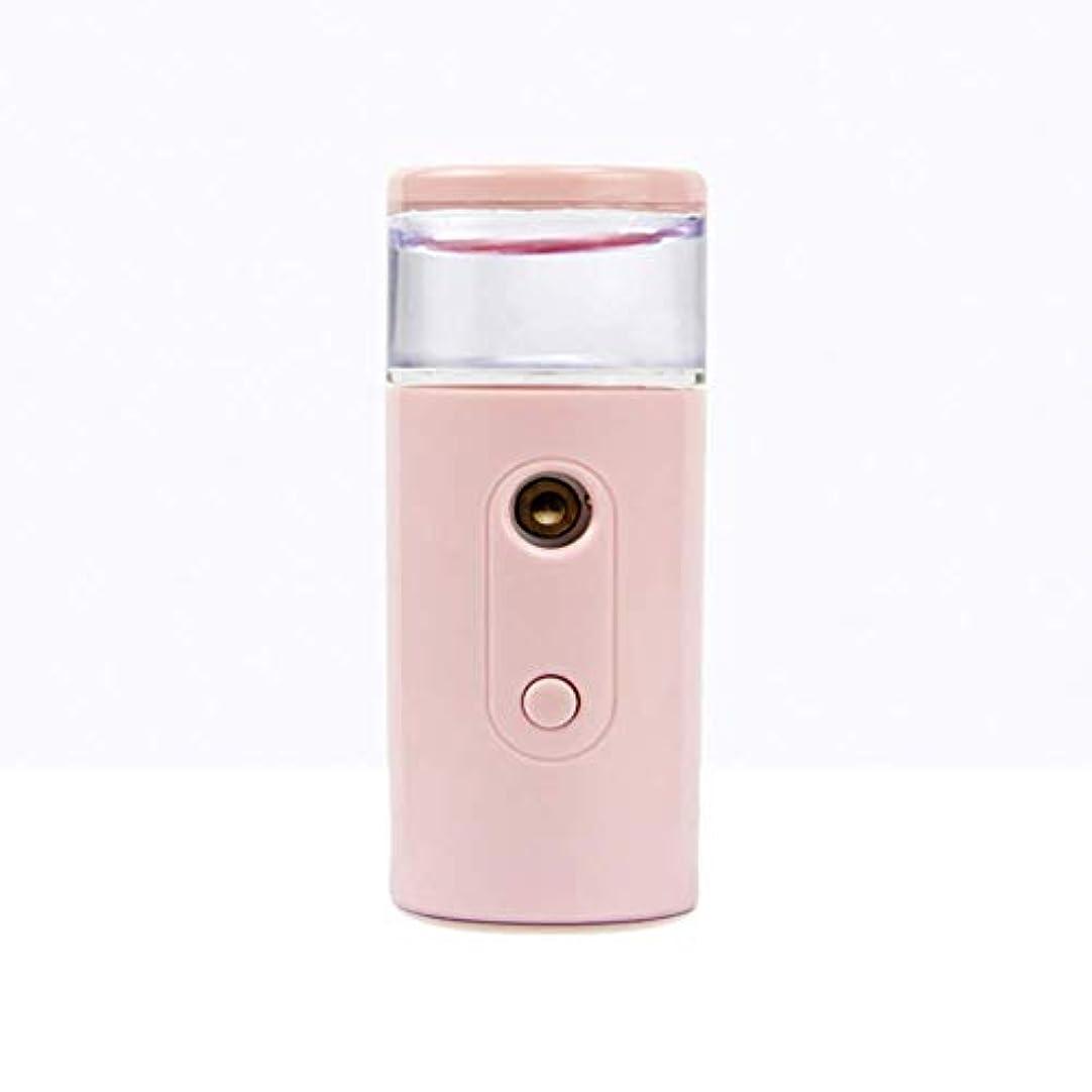 レッスン寄託が欲しいNano Facial Mister、30ml視覚的水タンクを備えた充電式フェイシャルスチーマー、スキンケア、旅行用保湿&保湿