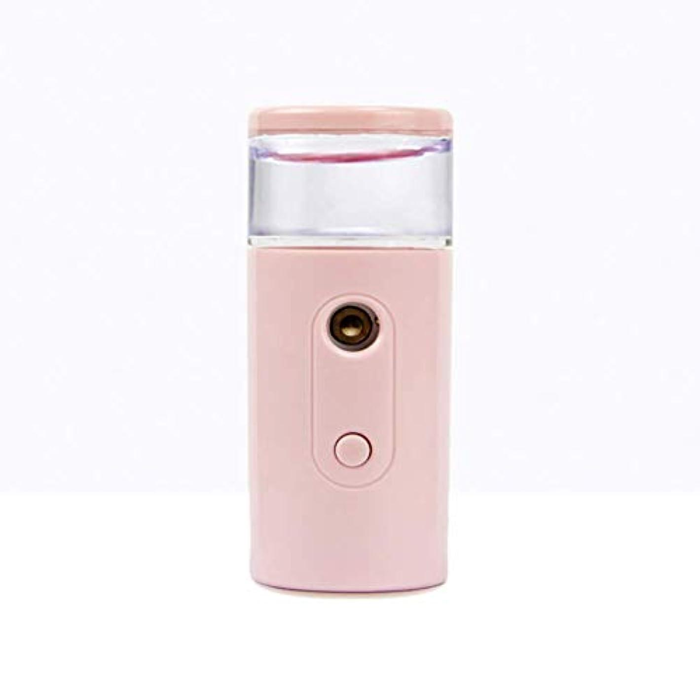 言語プレゼンテーション維持Nano Facial Mister、30ml視覚的水タンクを備えた充電式フェイシャルスチーマー、スキンケア、旅行用保湿&保湿