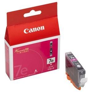(まとめ) キヤノン Canon インクタンク BCI-7eM マゼンタ 0366B001 1個 【×4セット】 [簡易パッケージ品]
