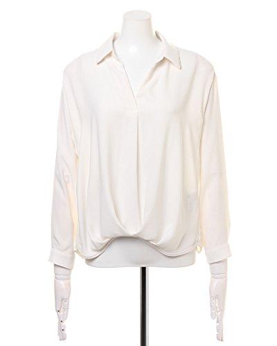 イング(INGNI) 裾タックトロミスキッパー長袖 シャツ