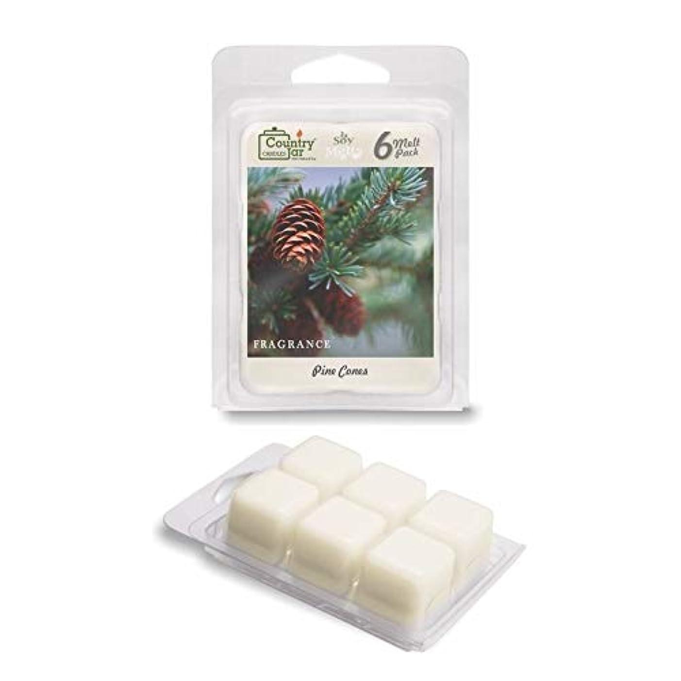 約イタリアの潜在的なNature 's Best大豆キャンドルby国Jar Candle Co。 Wax Melts (WM) MDL-SM118