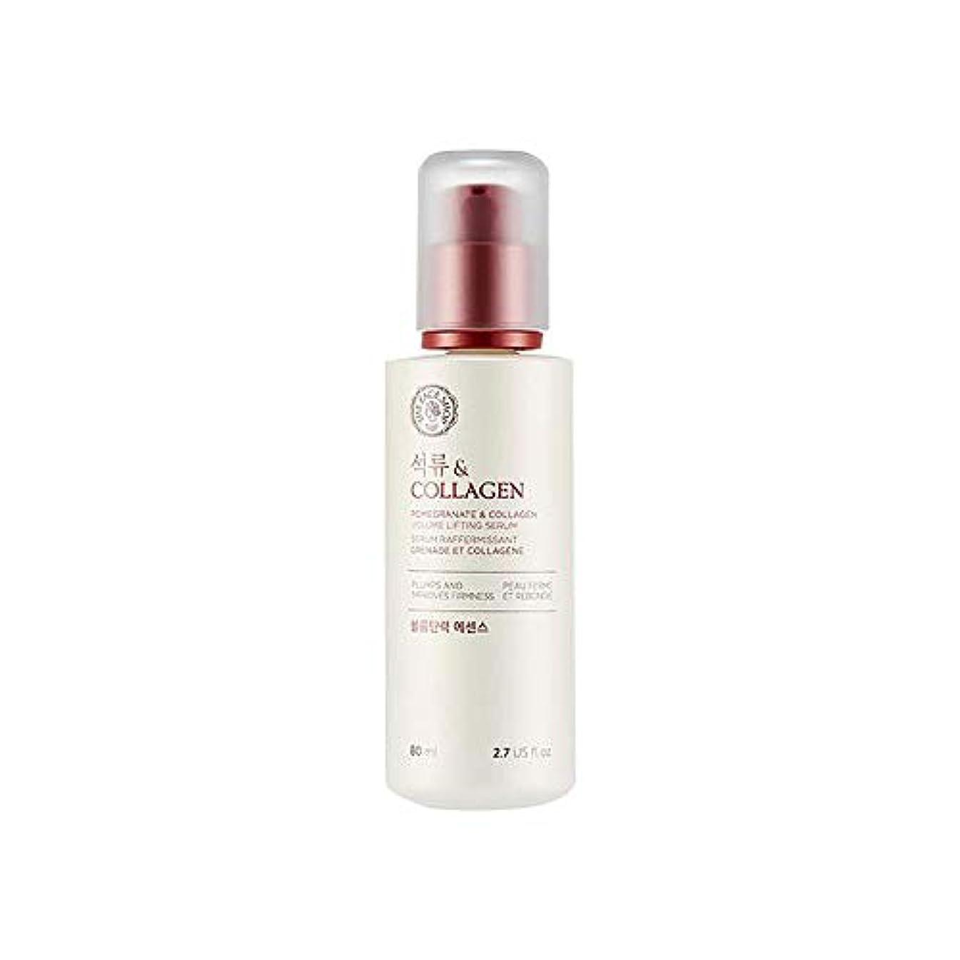 禁止北へ不均一[ザ·フェイスショップ] The Face Shop ザクロアンドコラーゲン弾力エッセンス(80ml) The Face Shop Pomegranate and Collagen Volume Lifting Essence...