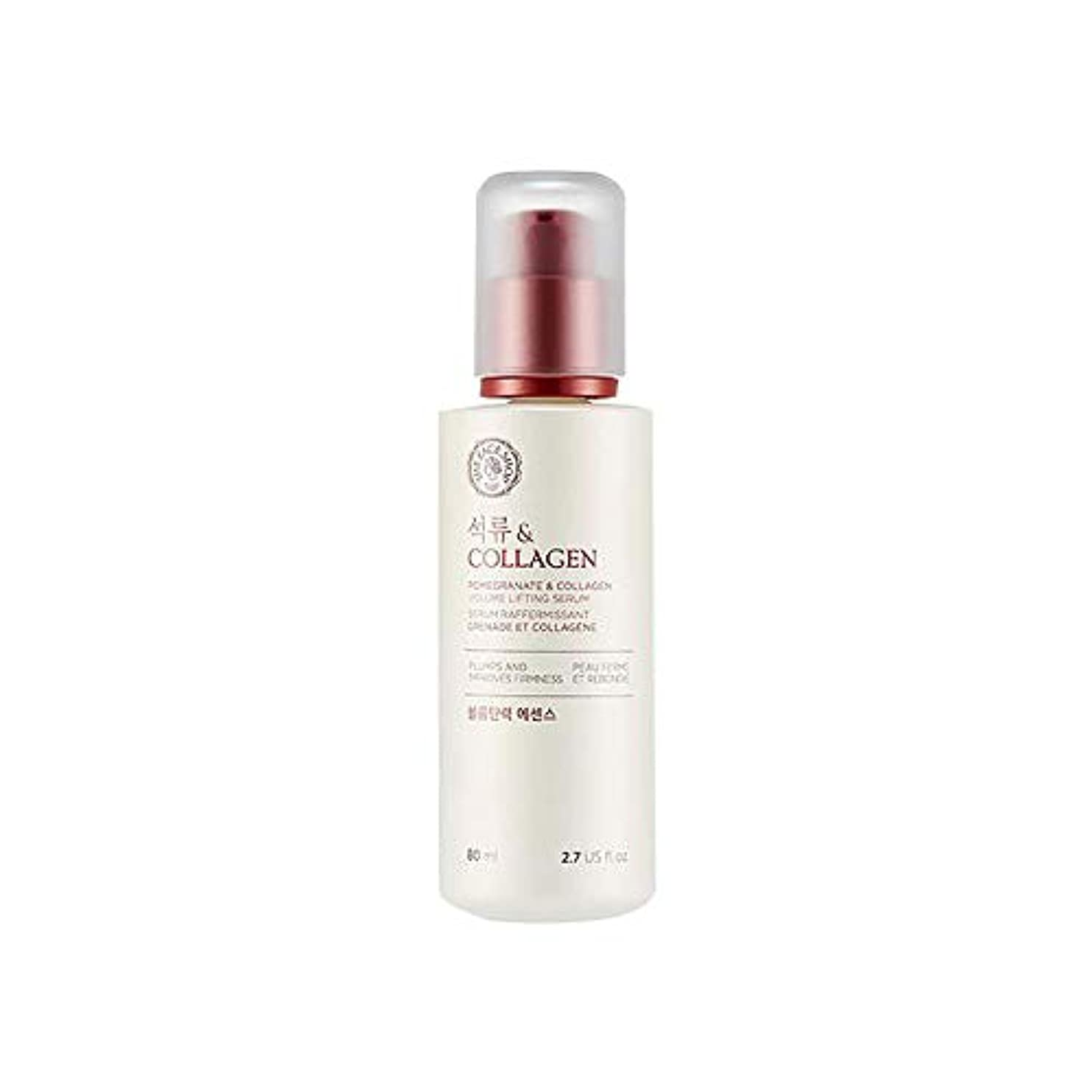 期間グループ野菜[ザ·フェイスショップ] The Face Shop ザクロアンドコラーゲン弾力エッセンス(80ml) The Face Shop Pomegranate and Collagen Volume Lifting Essence...