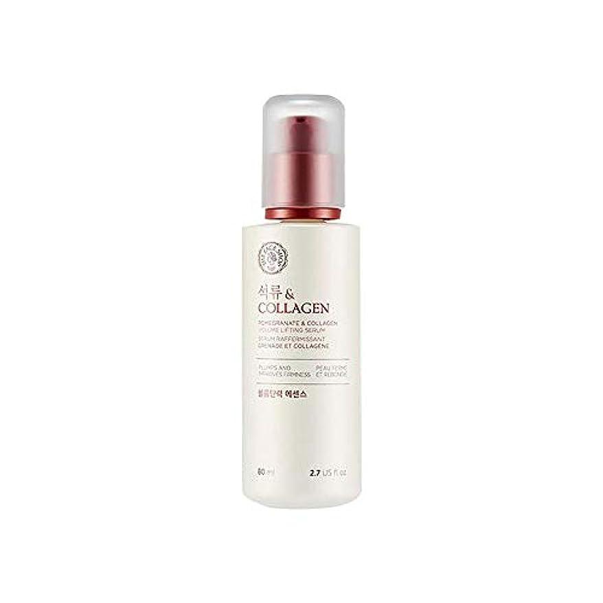 まっすぐにするしたがって薬局[ザ·フェイスショップ] The Face Shop ザクロアンドコラーゲン弾力エッセンス(80ml) The Face Shop Pomegranate and Collagen Volume Lifting Essence...