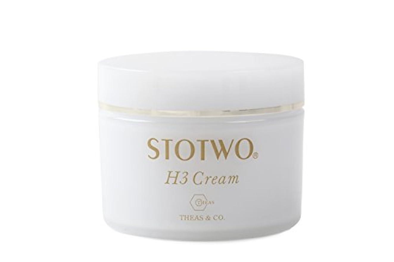 赤面暗くするもっともらしいストツ(STOTWO)H3 クリームヒアルロン酸 25g
