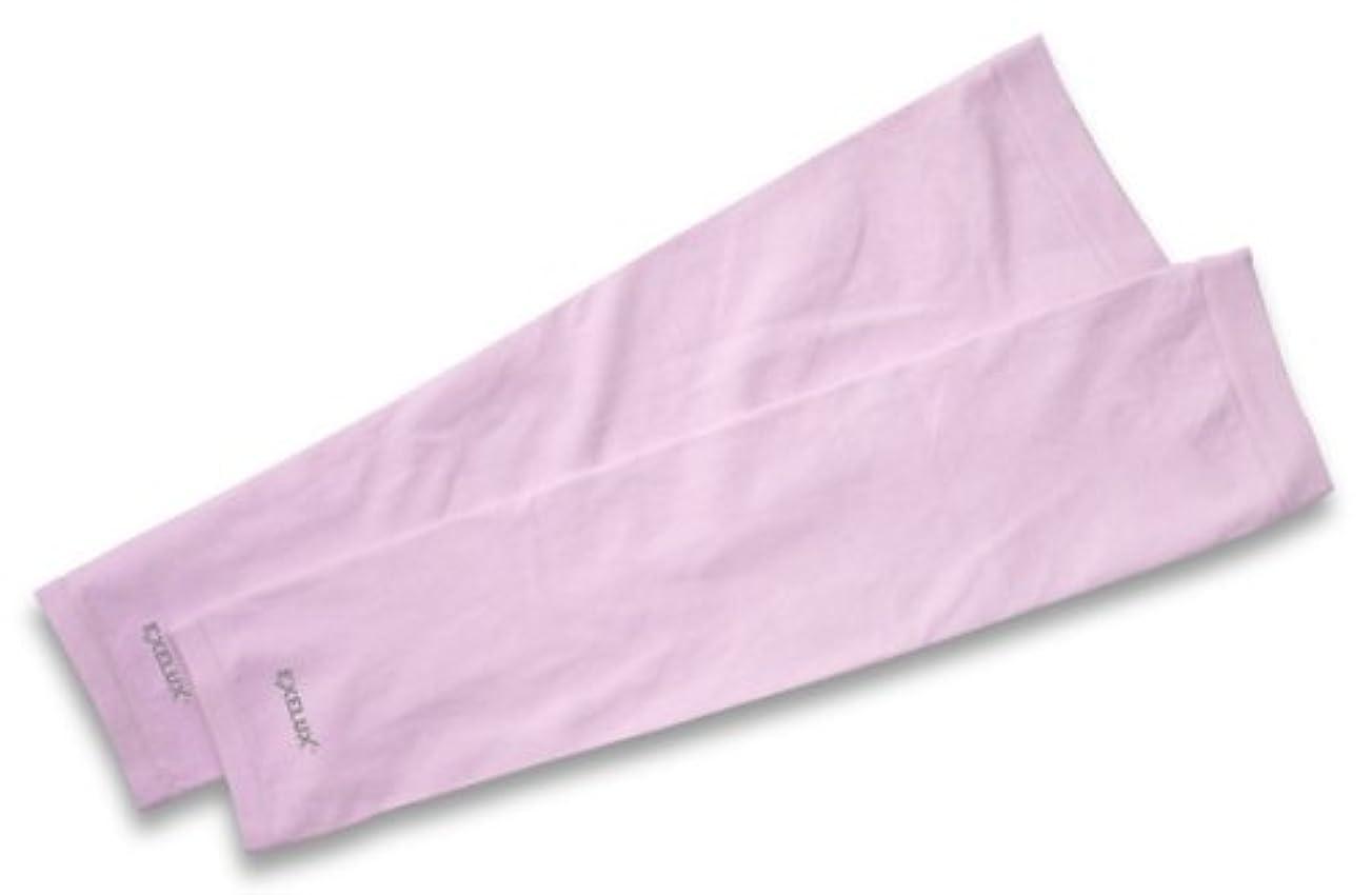 移動する枠市場EXELUX UVカットアームスリーブ ピンク