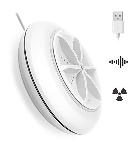 ZenCT ミニ洗濯機 超音波 USBポータブル洗濯機 小型 二つ洗濯モード コンパクト 一人暮らし CT054