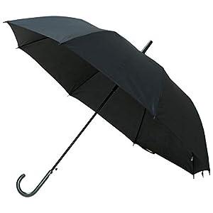 長寿乃里 長傘 ブラック 65cm