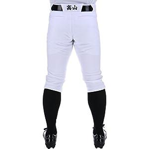 ゼット(ZETT) [名入れ 腰裏プリント] 野球 練習着 ユニフォーム パンツ ショート丈 メカパン ホワイト(1100) BU1182CP4 Mサイズ
