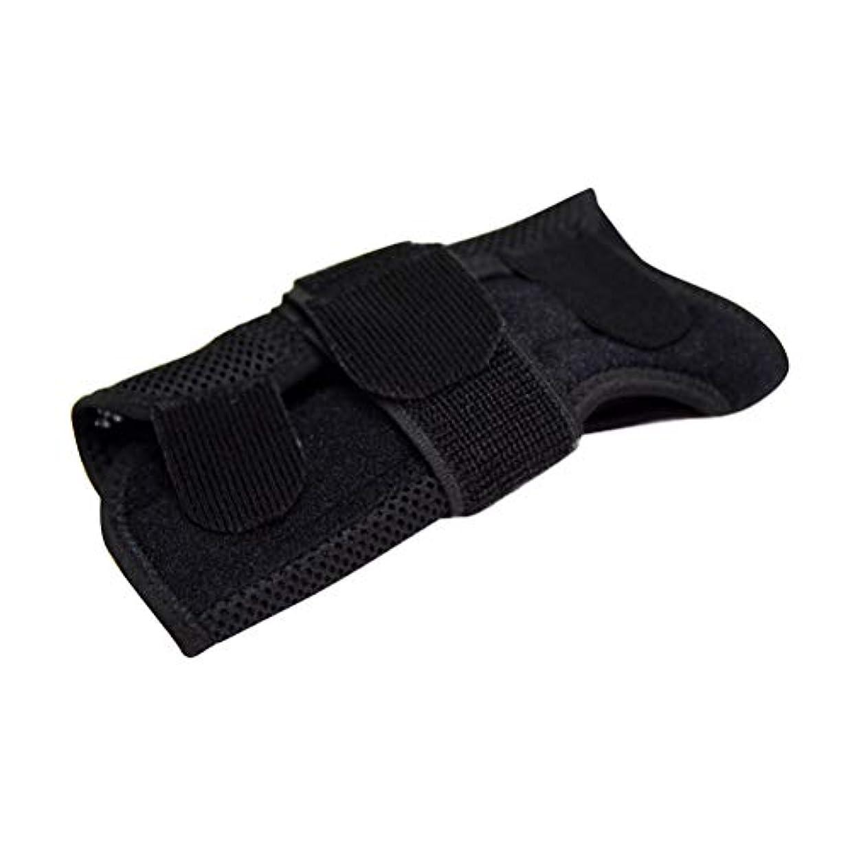 勧告一般的な乳白Healifty 手首ブレース通気性手首サポート副木(右手)