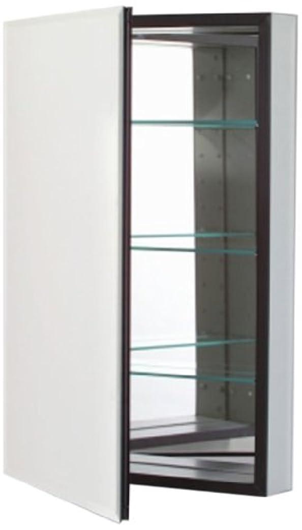 グレートオークアウトドア里親Robern cb-mt20d4fbll Mシリーズ左側フラットベベルミラーMedicine Cabinet with Defogger andライト