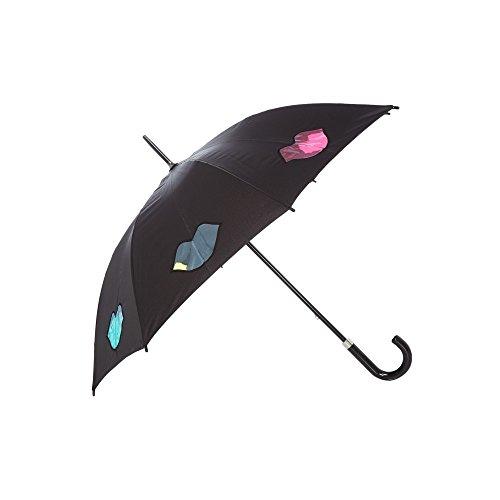 (ルル ギネス) Lulu Guinness レディース 傘 Lulu Rainbow Lips Umbrella [並行輸入品]