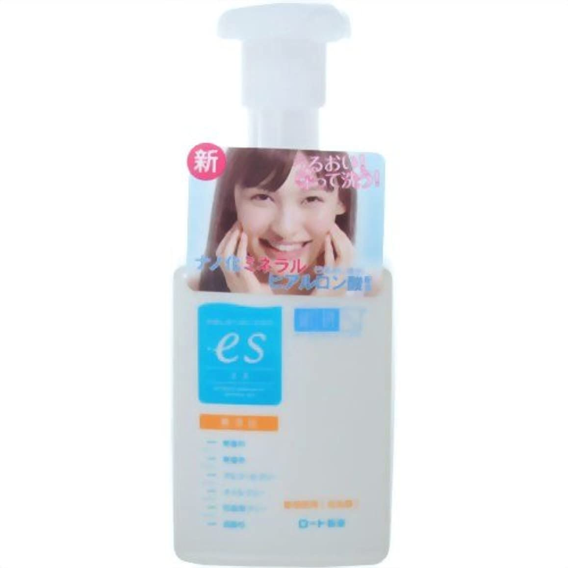 支給心臓ケーキ肌ラボ es(エス)ナノ化ミネラルヒアルロン酸配合 無添加処方 洗顔泡タイプ 160ml