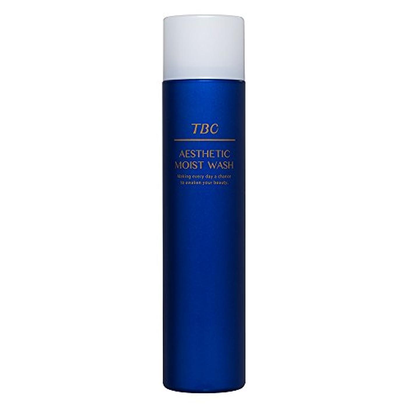 神経衰弱花脚本TBC エステティックモイストウォッシュ 洗顔料/洗顔フォーム/泡洗顔/炭酸泡/無添加処方