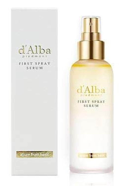 正直広範囲に蓋[dAlba] White truffle Mist Serum 100ml / [ダルバ] ホワイト トラプル ミスト セラム 100ml [並行輸入品]