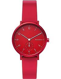 [スカーゲン] 腕時計 AAREN SKW2765 レディース 正規輸入品 レッド