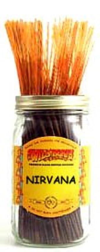 液化する帽子浴Nirvana – 100ワイルドベリーIncense Sticks
