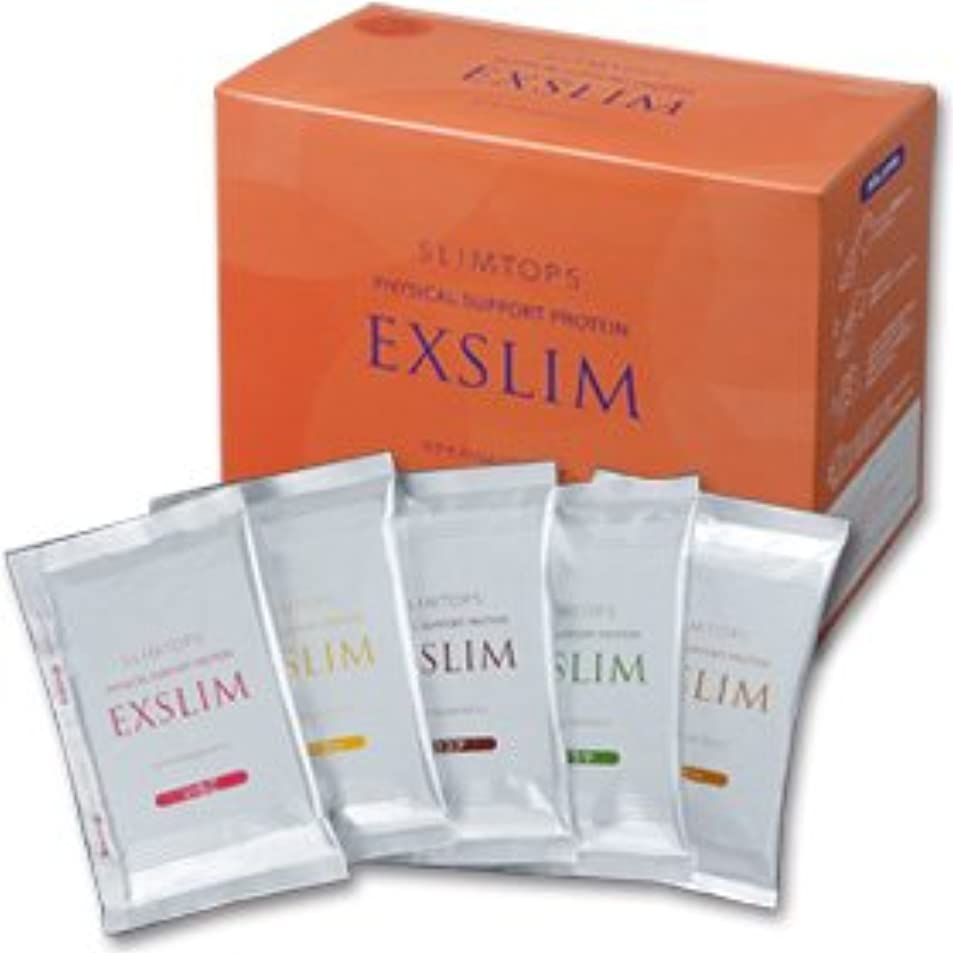 シネウィ気がついて目覚める【EXSLIM】スリムトップス エクサスリムLCDプロテインドリンク(ミックス 50g×14袋入り)