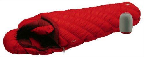 モンベル(mont-bell) 寝袋 UL.スーパースパイラル ダウンハガー 800 #0 サンライズレッド 右ジップ SURD [最低使用温度-31度] 1121204 SURD R/ZIP