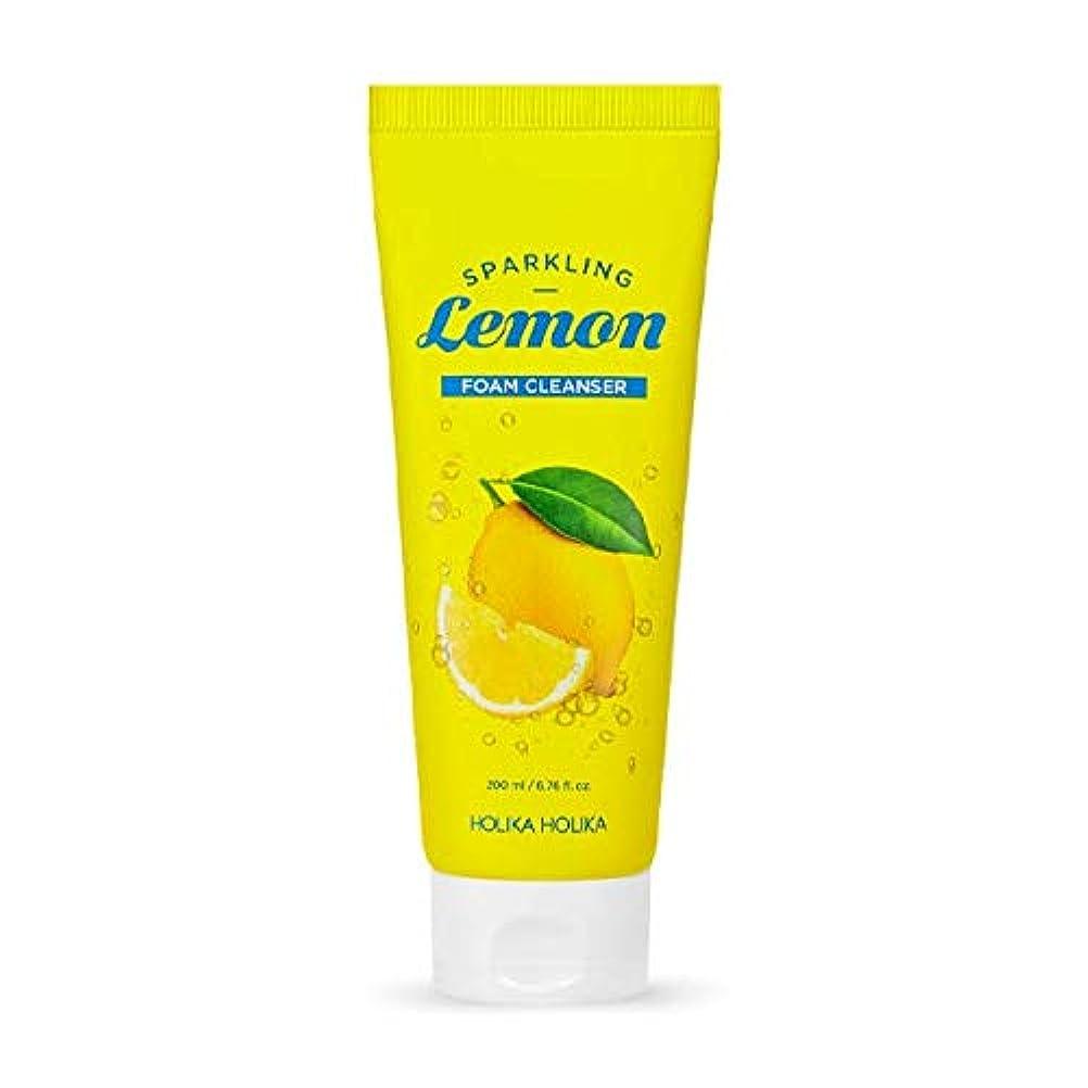 ホリカホリカ 炭酸レモンフォームクレンザー?洗顔フォーム/HOLIKA Sparkling Lemon Foam Cleanser 200ml 韓国コスメ [並行輸入品]