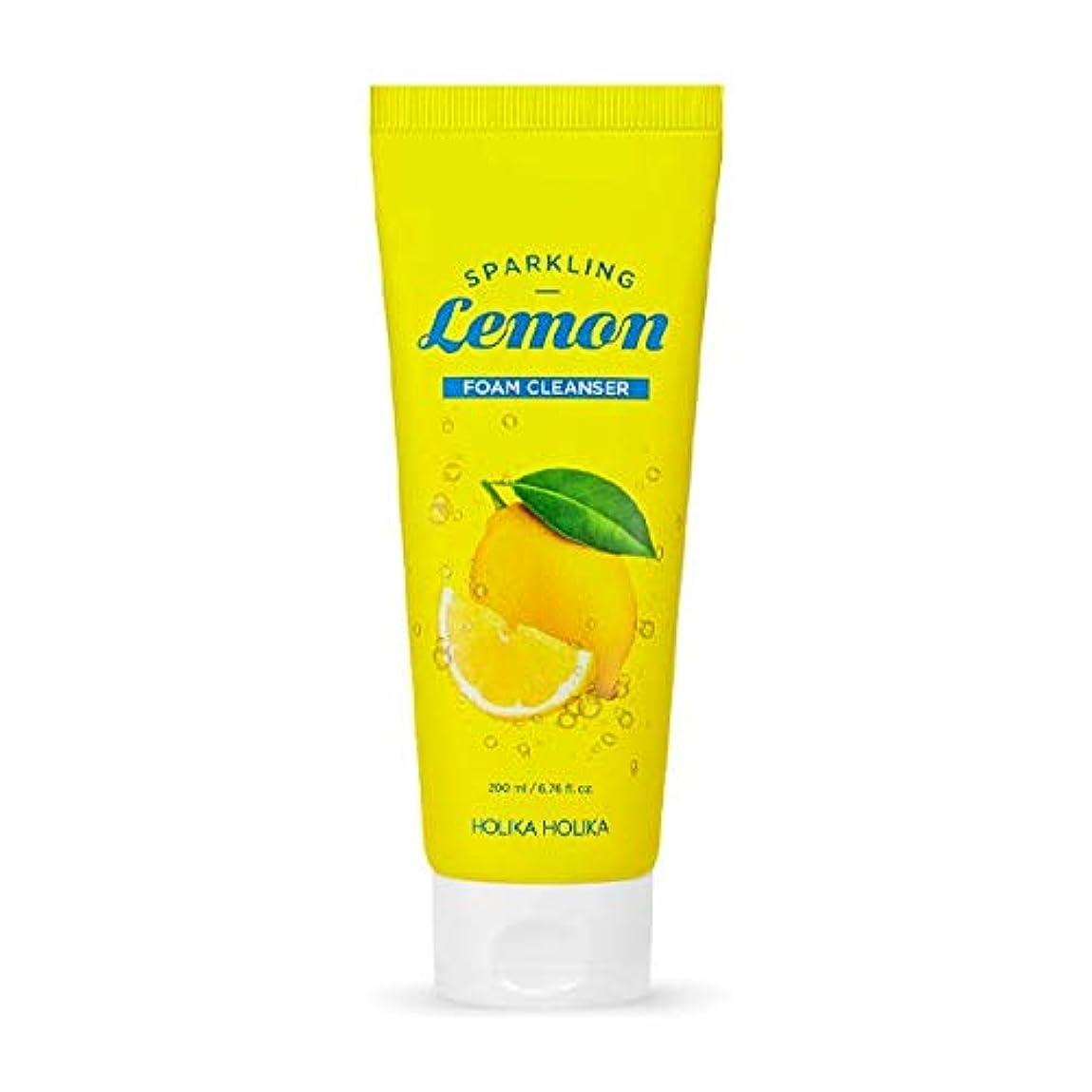 ビート質素な報復ホリカホリカ 炭酸レモンフォームクレンザー?洗顔フォーム/HOLIKA Sparkling Lemon Foam Cleanser 200ml 韓国コスメ [並行輸入品]
