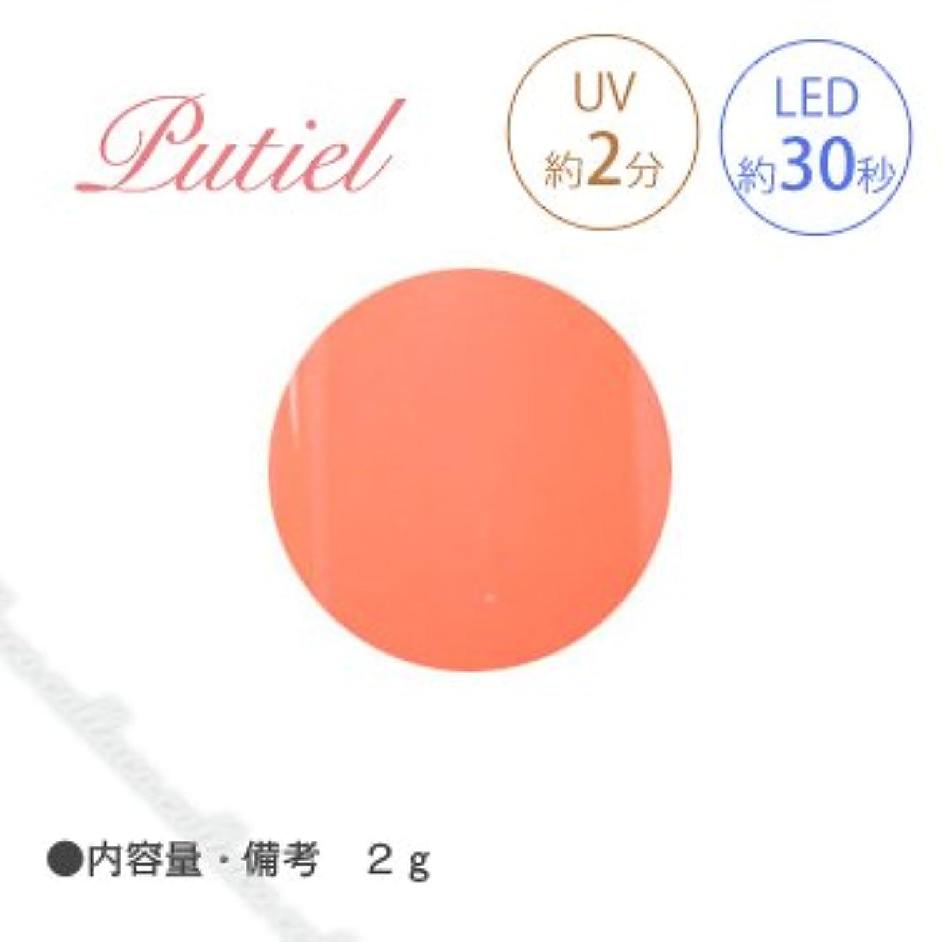 粘着性才能チョップPutiel プティール カラージェル 107 ビタミンオレンジ 2g