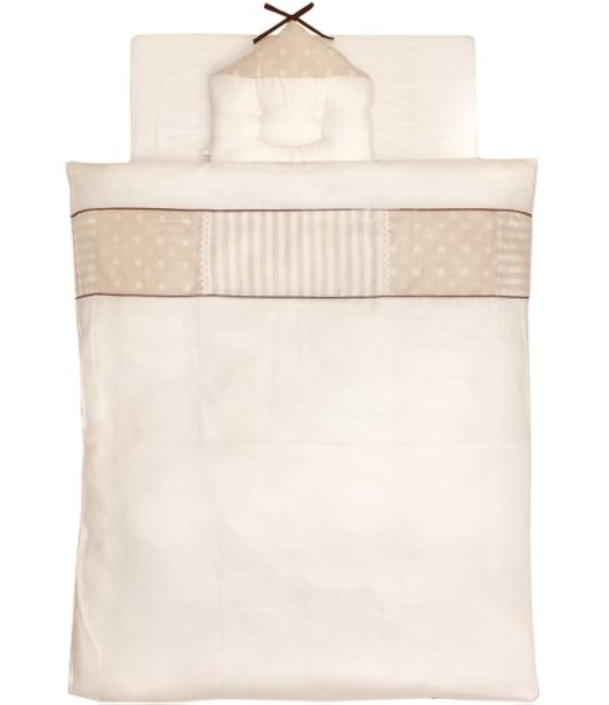 白井産業 日本製 オーガニックダブルガーゼ ミニサイズベビー布団10点セット トーション
