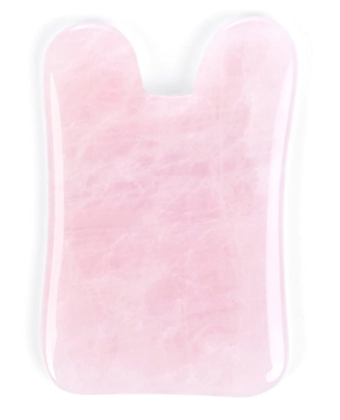 文句を言う辞任アシストEcho & Kern ピンクローズクォーツかっさプレート マッサージプレートPink Rose Quartz Gua Sha Board-Therapeutic Relief and Skin Renewal -Premium...