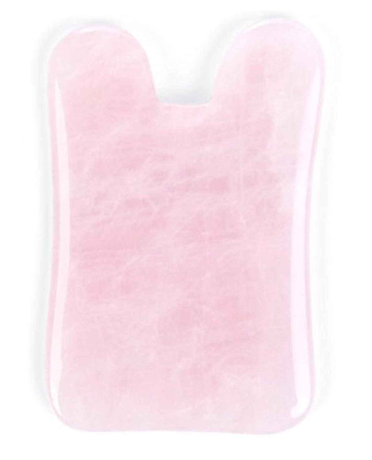 率直な深い説明的Echo & Kern ピンクローズクォーツかっさプレート マッサージプレートPink Rose Quartz Gua Sha Board-Therapeutic Relief and Skin Renewal -Premium All Natural Handmade Healing Stone Gua Sha Scraping Facial Massage Tools