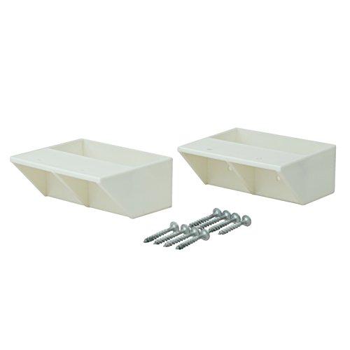RoomClip商品情報 - ラブリコ DIY収納パーツ 2×4棚受シングル オフホワイト DXO-2