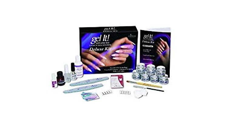あいまいな娯楽凝視EzFlow - Gel It! Advanced LED/UV Gel System - DELUXE KIT