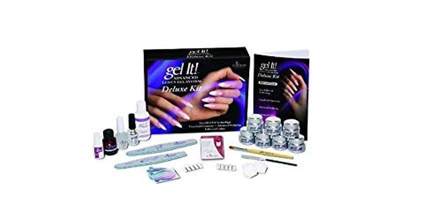 レルムクロニクルリールEzFlow - Gel It! Advanced LED/UV Gel System - DELUXE KIT