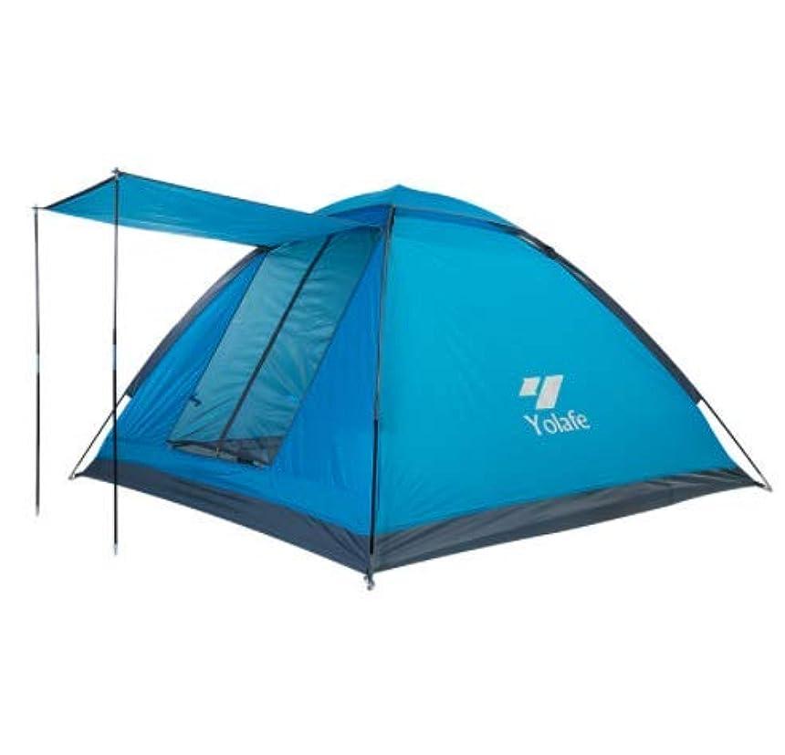 花嫁極貧迅速Nasou 屋外テント三速オープン防風ダブルキャンプテントキャンプ防水テント