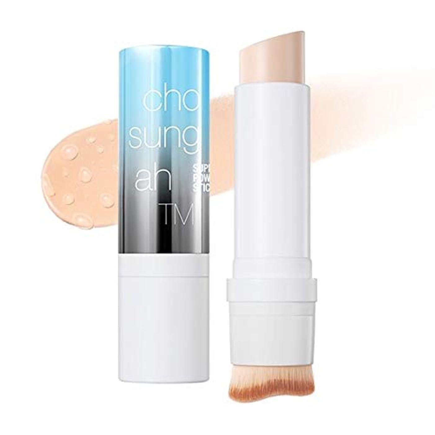 収容する助手愛撫Chosungah TM Super Fit Stick Foundation 01 Light Beige SPF50+/PA++++ 12g