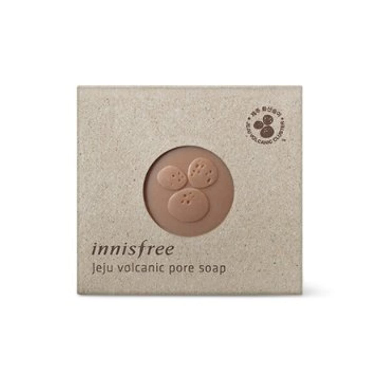 【イニスフリー】Innisfree jeju volcanic pore soap - 100g (韓国直送品) (SHOPPINGINSTAGRAM)