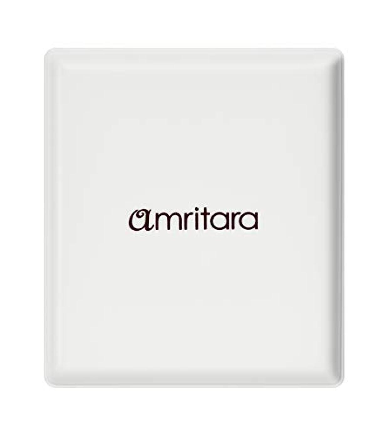 横氷建築アムリターラ(amritara) ハイビスカスチーク パウダリー コンパクトケース 20g
