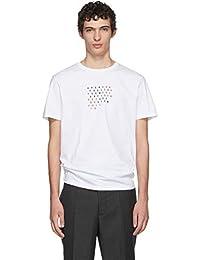 (ラフ シモンズ) Raf Simons メンズ トップス Tシャツ White 'Fall 18' Slim Fit T-Shirt [並行輸入品]