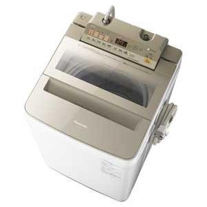 パナソニック 8.0kg 全自動洗濯機 シャンパンPanasonic エコナビ NA-FA80H5-N