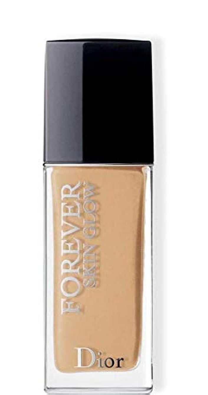 適度に宮殿粉砕するクリスチャンディオール Dior Forever Skin Glow 24H Wear High Perfection Foundation SPF 35 - # 3WO (Warm Olive) 30ml/1oz並行輸入品